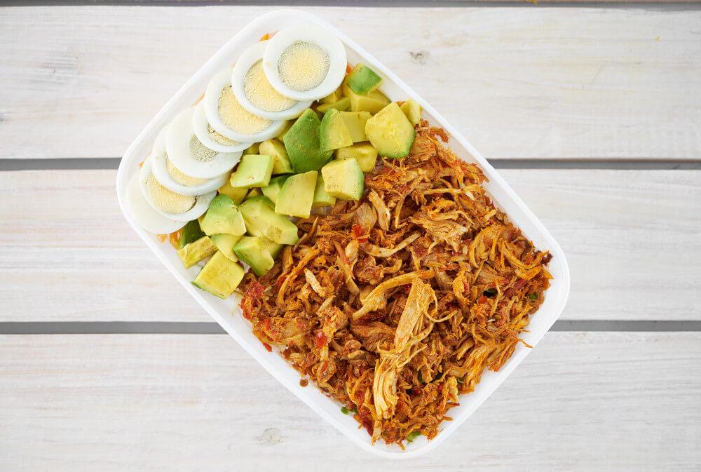 Avo Spicy Chicken Salad