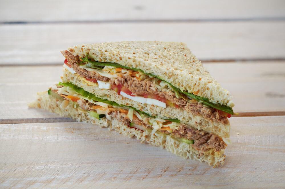 Tuna & Egg Sandwich