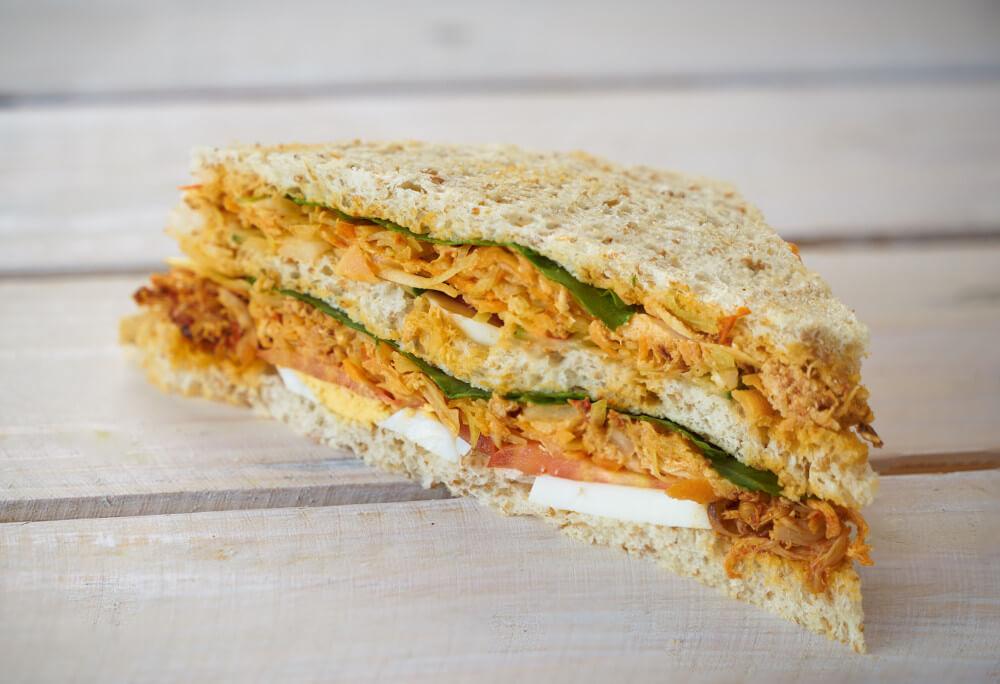 Spicy Chicken & Egg Sandwich