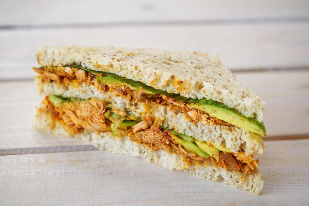 Spicy Chicken & Avo Sandwich